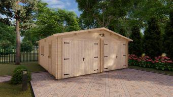 Garažas 6 x 6 44 mm